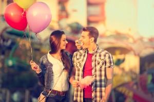 女友達と好きな人への態度の違い●並んで歩いているときの距離