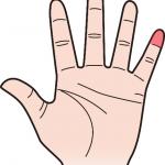 第一関節 小指のほくろ占い