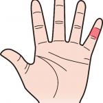 第二関節 小指のほくろ占い