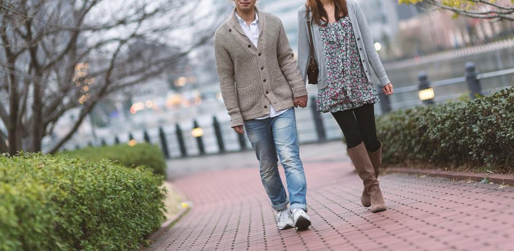 0円デート方法⑤お散歩デート