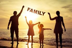 ずっと好きな人を愛する一途な男性の特徴④自分の家族を大切にしてる