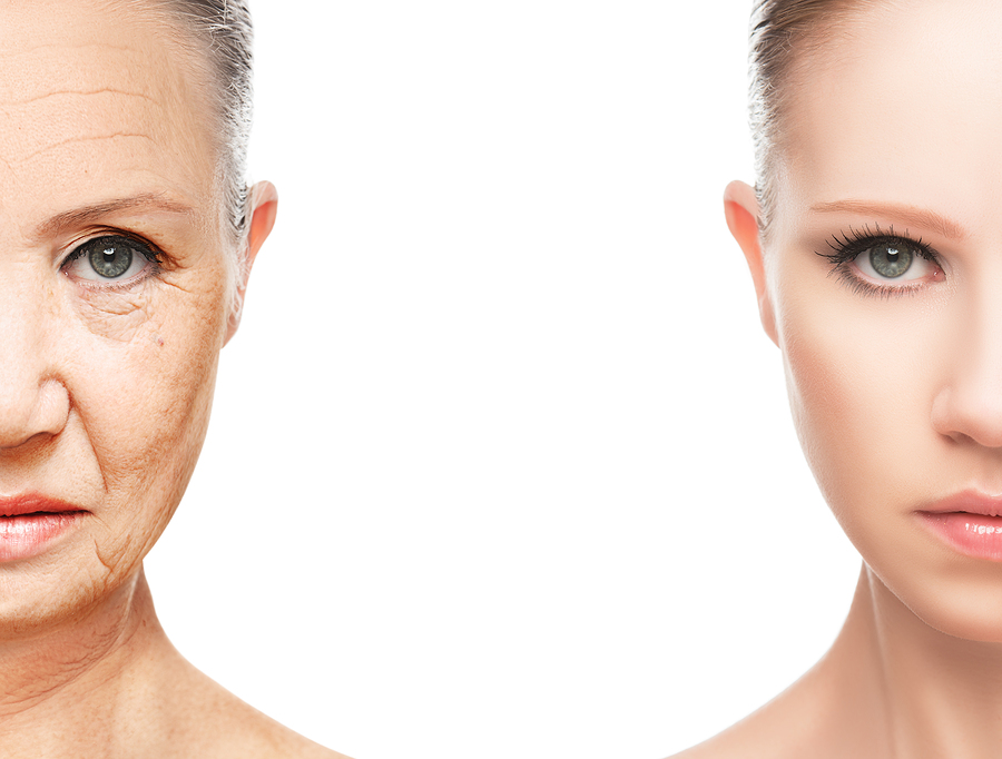 女性が老けて見える原因は?20代でも顔に老け顔の特徴あり?