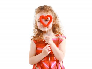 Love, Mother's Day, Valentine's Day And People Concept - Happy L