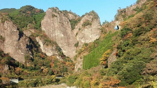 ①【ハート岩】(福岡県八女)