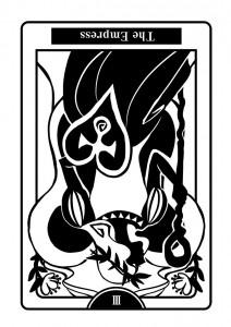 《恋愛タロット占い》THE EMPRESS 『 女帝 』のカード