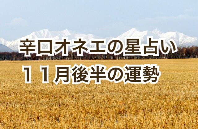 【辛口オネエ】11月後半の運勢◆牡羊座・獅子座・射手座【星占い】