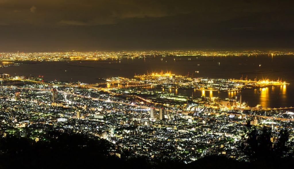関西告白スポット◆六甲山 摩耶山の掬星台