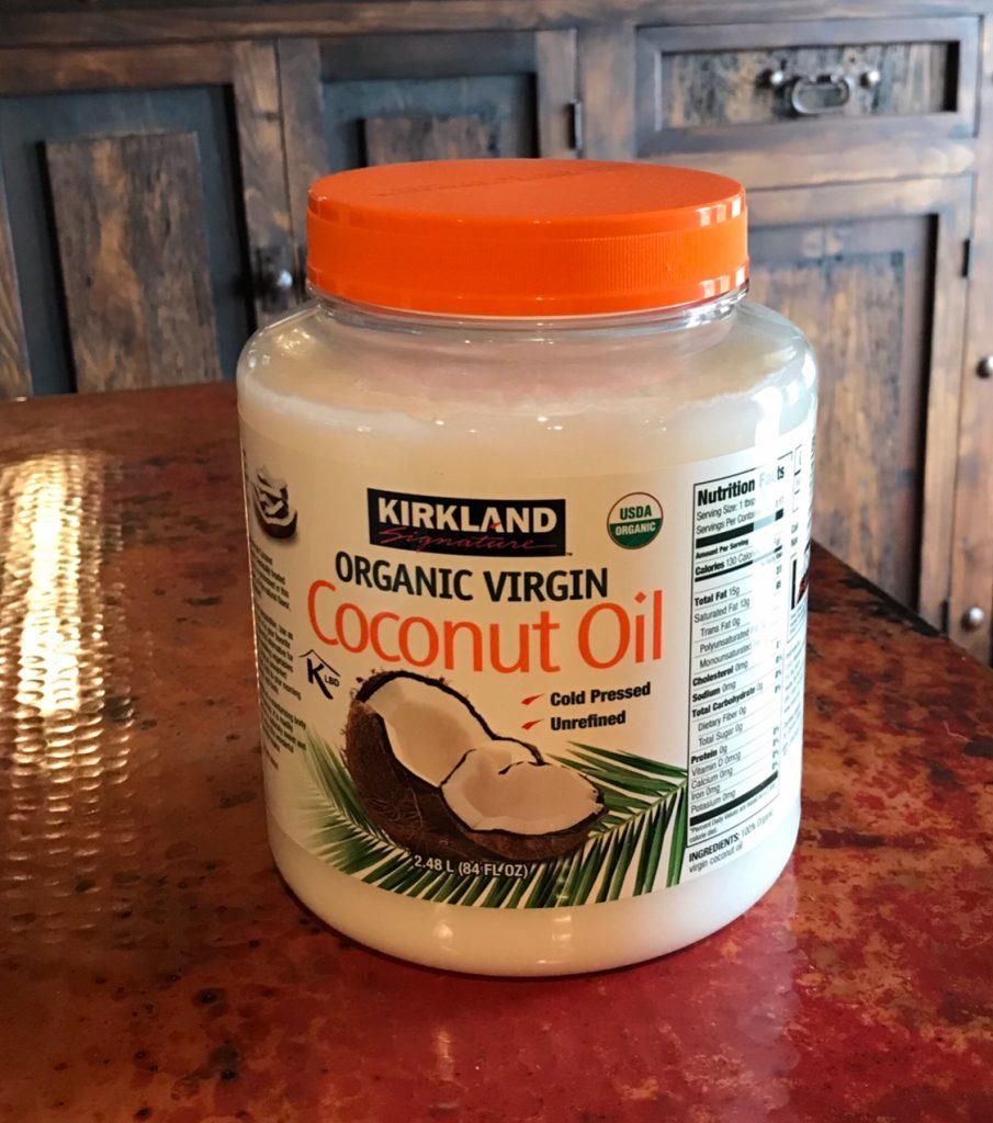 コストコの「オーガニックバージンココナッツオイル」