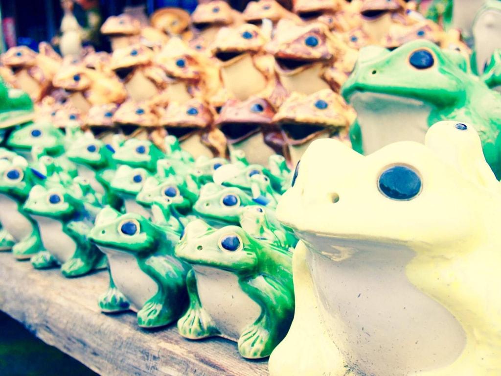 カエルの夢占い♥カエルが大量にいる夢