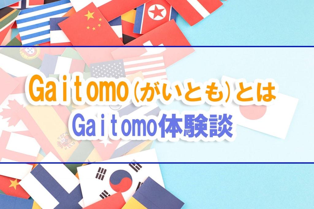 Gaitomo(ガイトモ)の感想!外国人と出会う国際交流パーティーの婚活?体験談