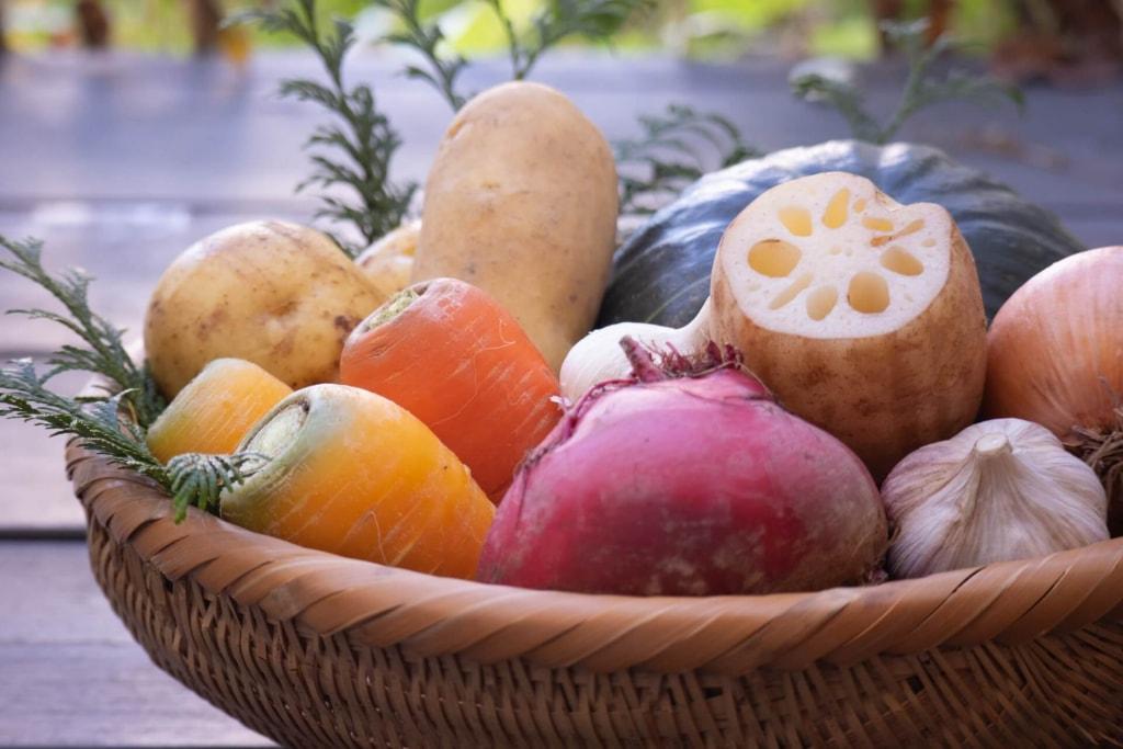 レンコンと大根など根菜類の糖質比較!