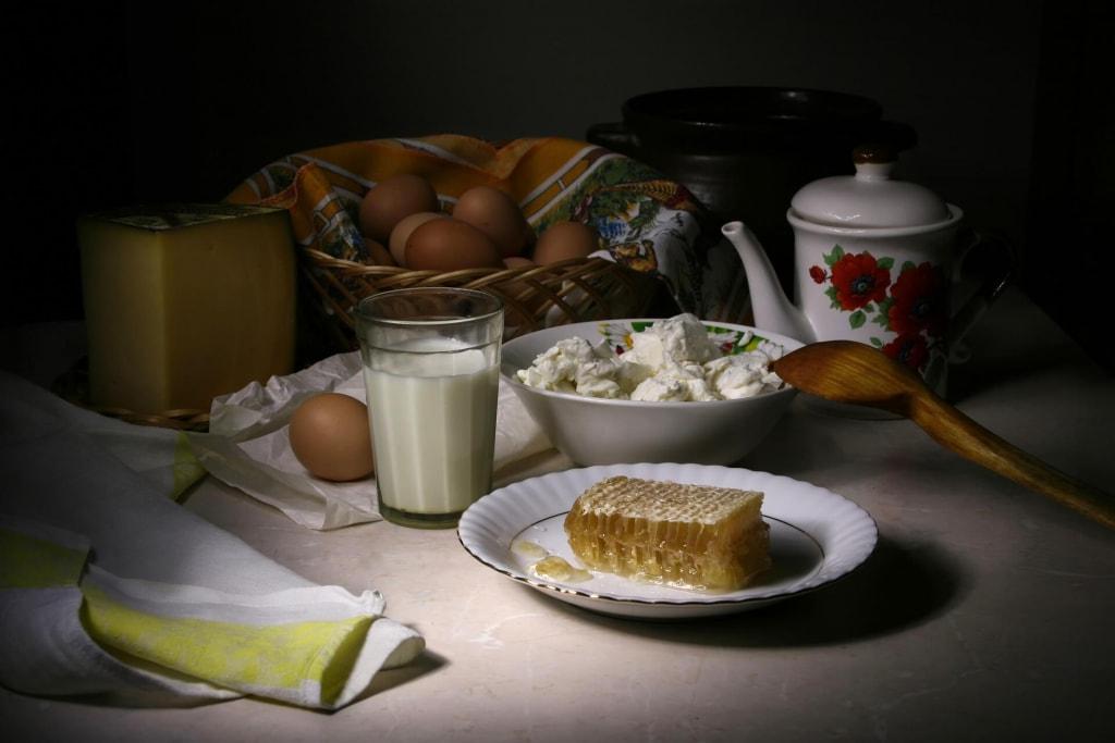 パン粉フレンチトーストを作る材料