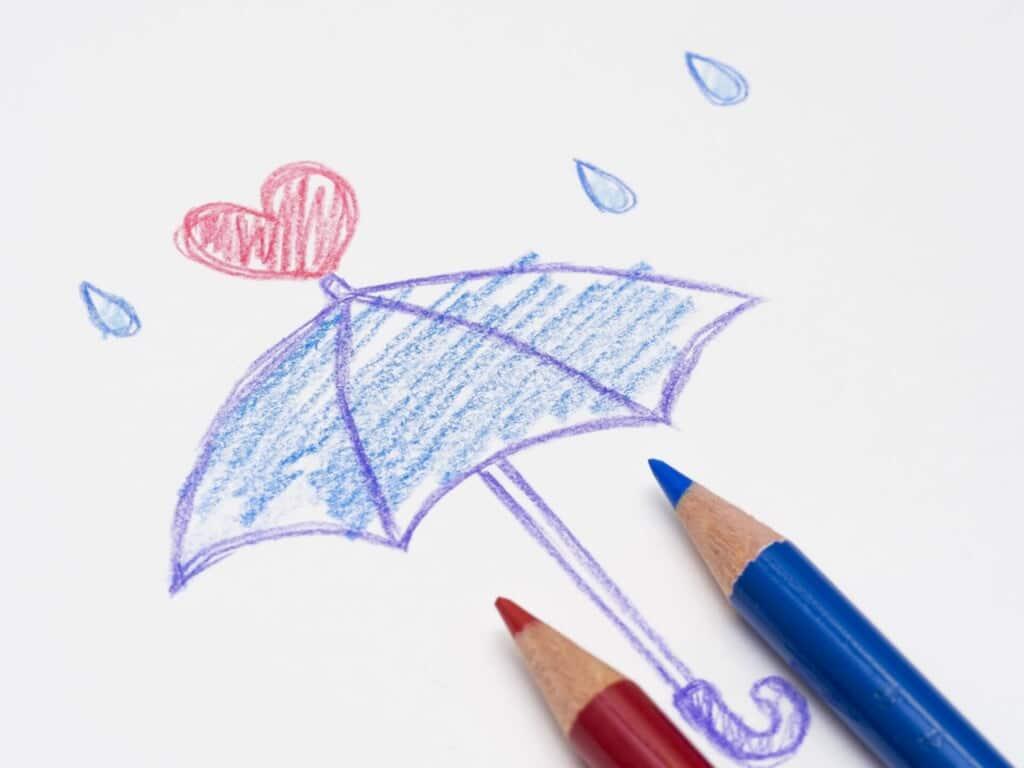 恋愛おまじない⑨相合傘で両思いになりたい♥