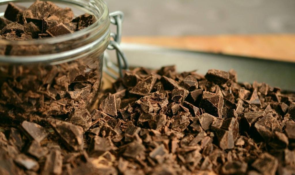 カカオ70%以上のチョコ