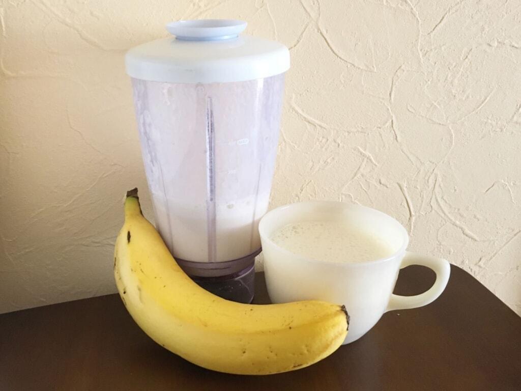 豆乳バナナダイエットのやり方