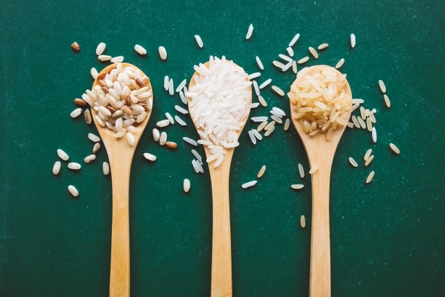 玄米と白米のカロリー比較