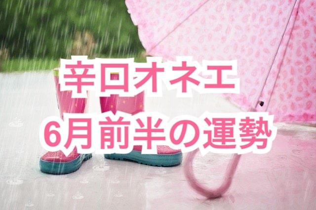 6月前半【辛口オネエ】牡羊座・獅子座・射手座