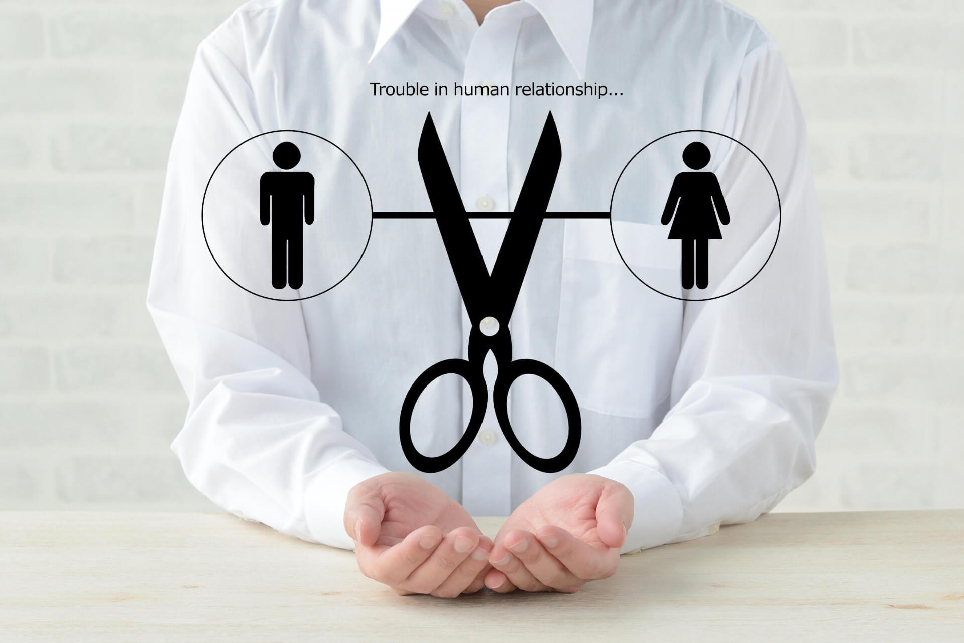 人間関係リセット症候群なのか診断チェック