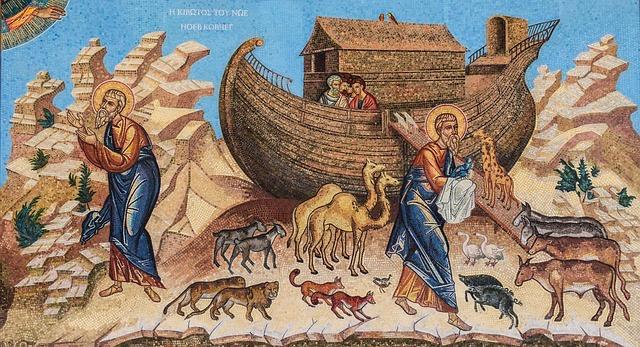 【辛スピ】おしゃべり隕石(号外)ノアの時代の大洪水と契約の虹の裏話